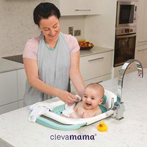 ClevaMama, ClevaBath Vaschetta Bagnetto Neonato Pieghevole