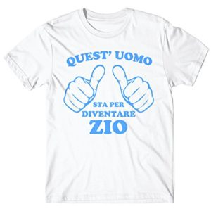 LaMAGLIERIA, T-Shirt Quest'uomo Sta per Diventare Zio