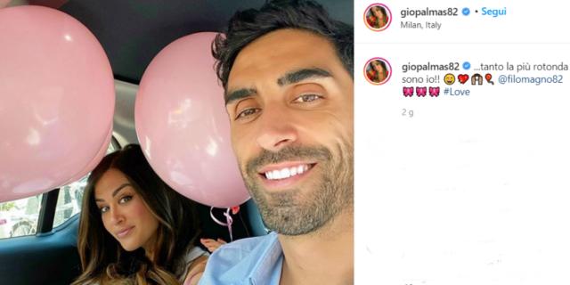 L'annuncio social di Giorgia Palmas e Filippo Magnini: è femmina