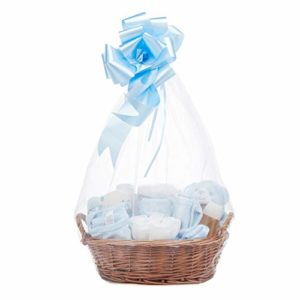 Baby Box Shop, Kit Neonato in un elegante Cesto Vimini