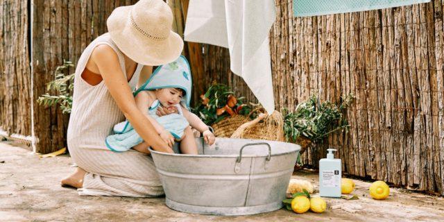 """8 cose importanti per un bagnetto sostenibile che """"fa bene"""" ai tuoi figli"""