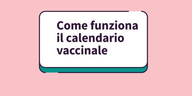 Il calendario vaccinale spiegato dalla pediatra