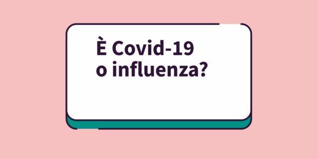 Covid -19 o influenza stagionale? La pediatra risponde