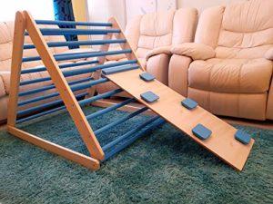 Triangolo a gradini, scala rampicante per bambini