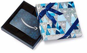 Buono Regalo Amazon.it - Cofanetto blu e argento