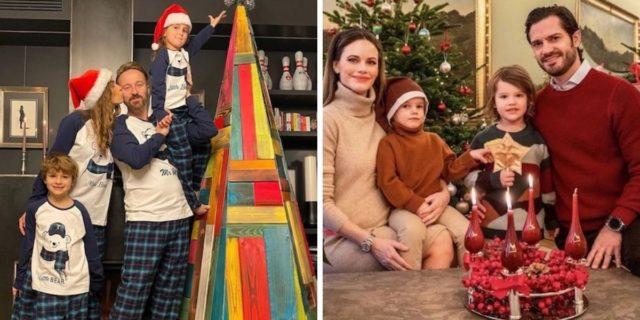 Foto di famiglia natalizie: le cartoline (reali e non solo) di auguri