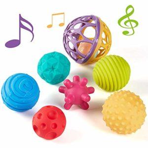 CubicFun Palle Morbide Sensoriali Giochi per Neonato