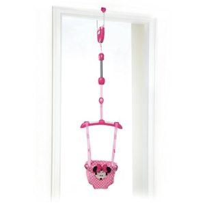 Altalena da Porta Minnie - Rosa per Neonati e Bambini