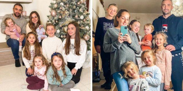 """Giorgia e la vita con 7 figli: """"Così aiuto le mamme a non sentirsi inadeguate"""""""