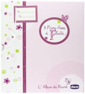 Chicco Album Dei Ricordi, Libro Nascita, Rosa