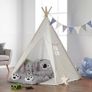 Tenda Teepee Bambini, Gioco con Lucine Haus Projekt