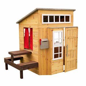 Kidkraft 182 - Casetta per Bambini da esterni, in legno