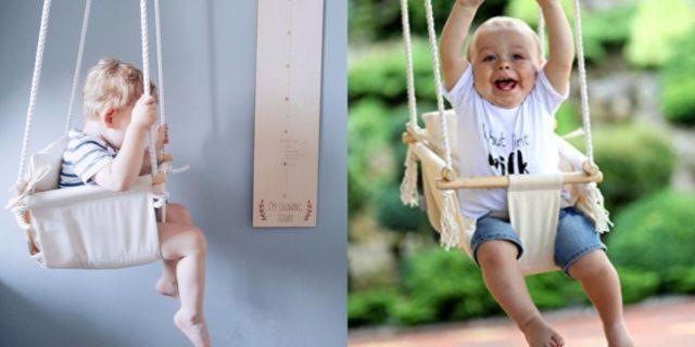 Altalena per bambini da interno o da esterno? Le soluzioni a prova di sicurezza