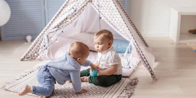Tende giocattolo per bambini, rifugio ideale per stimolare l'indipendenza