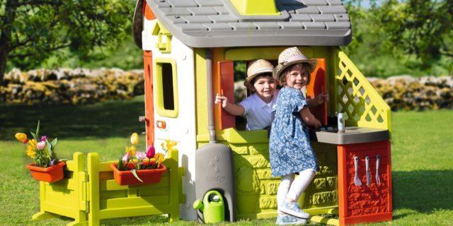 Casette per bambini (da interno ed esterno), ideali per stimolare la fantasia