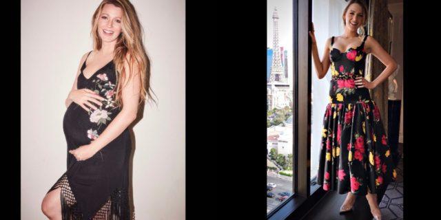 """Anche Blake Lively insicura dopo il parto: """"La moda non aiuta le neo mamme"""""""
