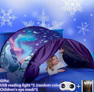 Tenda giocattolo pop-up da letto, per bambini
