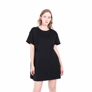 Maxi T-Shirt Donna, manica corta oversize cotone