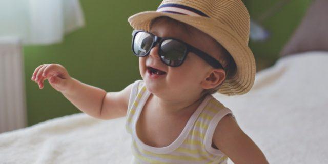 L'importanza di scegliere correttamente gli occhiali da sole per neonato