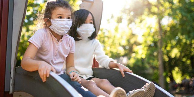 Covid-19 e bambini: al parco giochi poca possibilità di contrarre il virus