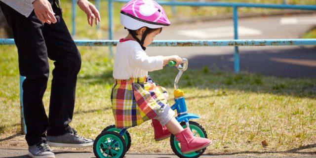 Triciclo per bambini, un aiuto per lo sviluppo della motricità
