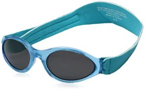 BABY BANZ Occhiali da sole per bambini, 0-2 anni - Aqua Blu
