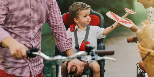 Divertimento in sicurezza con il seggiolino bici bambino (anteriore e posteriore)