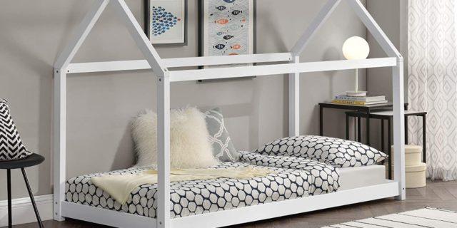 Letto a capanna per bambini per sonni sereni (di notte) e divertimento (di giorno)