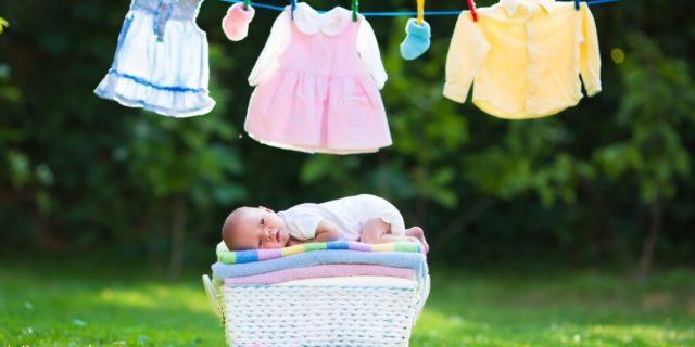 Bucato perfetto! Caratteristiche e ingredienti dei detersivi per neonati