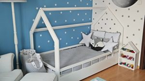 Lettino&casa: letto in legno stile scandinavo per bambini