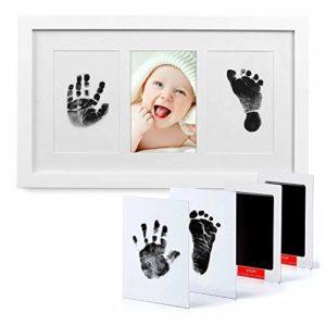 PewinGo, Set Impronte Bimbi con un Touchpad 100% Safe For Baby Senza Inchiostro