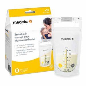 Medela, Sacche per la Conservazione del Latte Materno, 180 ML