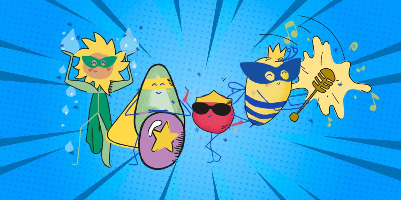 Ci sono 4 nuovi supereroi: ispirano i bimbi a prendersi cura di sé e del Pianeta