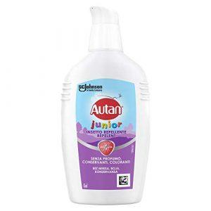 Autan Junior Gel Antizanzare Bambini, Insetto Repellente Inodore