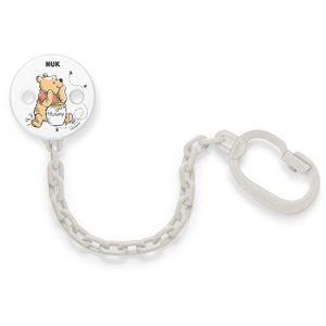 NUK Catenella e clip per ciuccio - Disney Winnie the Pooh