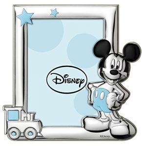 Disney Baby - Topolino Mickey Mouse - Cornice per Foto in Argento da Tavolo