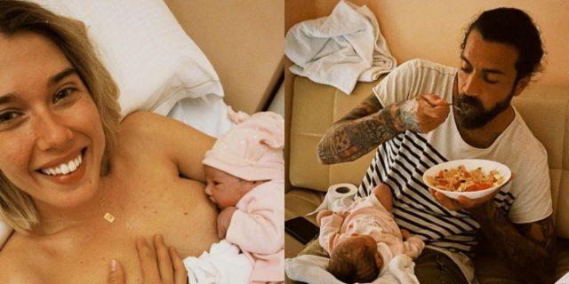 Martina Pinto e Alessandro Poggi, l'importanza dei papà durante il parto