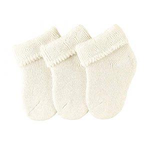 Sterntaler Calzini per neonati, Confezione da 3 paia, Beige
