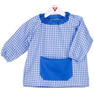 Klottz - Grembiule a poncho, senza bottoni, per bambini