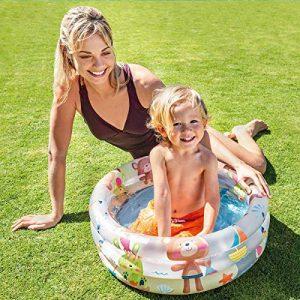 Intex- Piscina Baby Pool 3 Anelli per la Spiaggia
