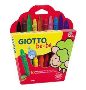 Giotto be-bè–Astuccio di 10MAXI Pastelli per i più piccoli