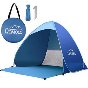 Qomolo -Tenda da Spiaggia Pop-up Portatile