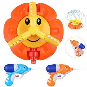 Gemeer Giocattoli Sprinkler, Irrigatori Rotanti a Girasole per Bambini