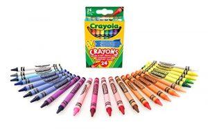 Crayola-24 Pastelli a Cera, Assortiti per il Tempo Libero