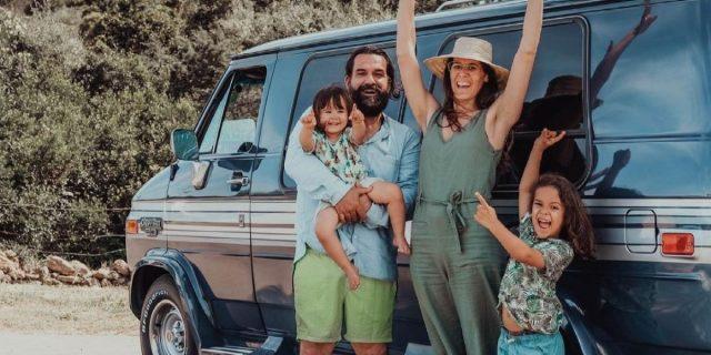 Vacanze con i bambini, l'avventura di Anna Scrigni e della sua famiglia in van