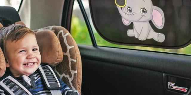 Tendine parasole auto per bambini, i consigli per la scelta