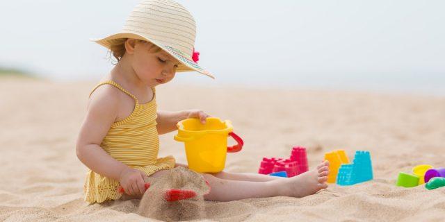 Giocattoli da spiaggia, i preferiti dai bambini