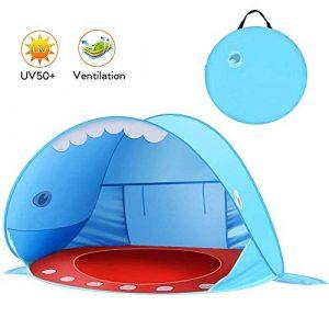 ZKO Tenda da Spiaggia per Bambini pop-up