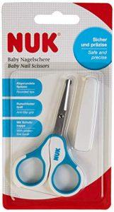 NUK forbici per unghie per bambini con cappuccio protettivo