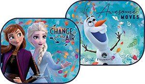 Disney - Tendine Parasole auto per bambini - Ventosa, Set di 2